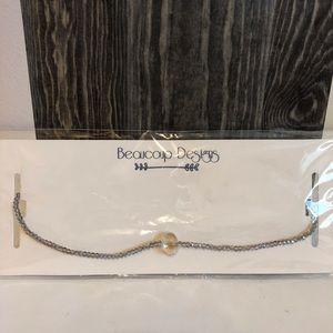Jewelry - Silver Beaded Choker